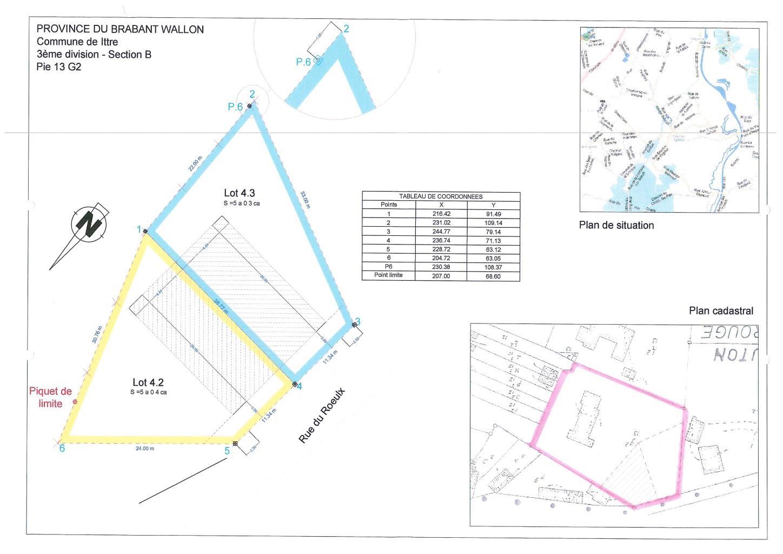 Terrain à bâtir - Ittre Virginal-Samme - #1736542-0