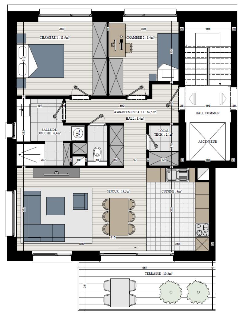 Appartement - Rebecq Quenast - #3632743-2