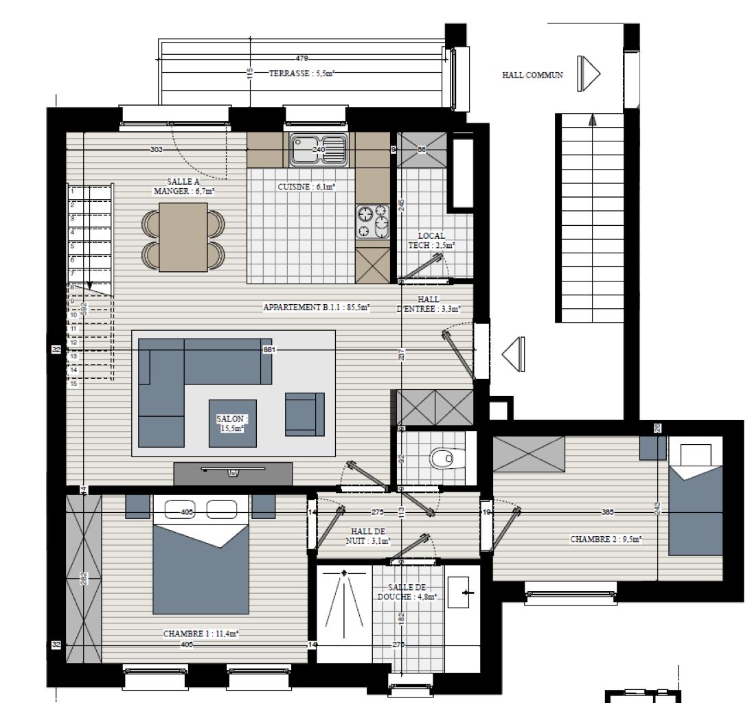 Appartement - Rebecq Quenast - #3632808-2